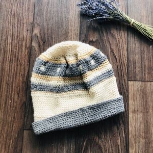 Hand Knitted Cozy Beanie